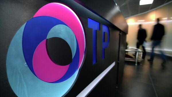 В новом комплексе телеканала Общественное телевидение России (ОТР). Архивное фото