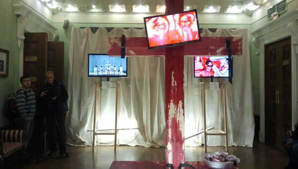 Премьера спектакля KILL по Шиллеру в новосибирском театре Красный факел. Архивное фото