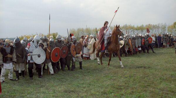 Реконструкция военно-исторических событий Куликовской битвы
