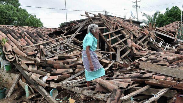 Последствия урагана в Акапулько, фото с места события