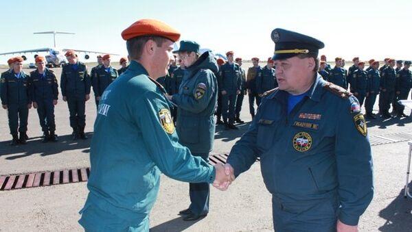 Курсанты-спасатели получили награды за борьбу с паводком в Приамурье