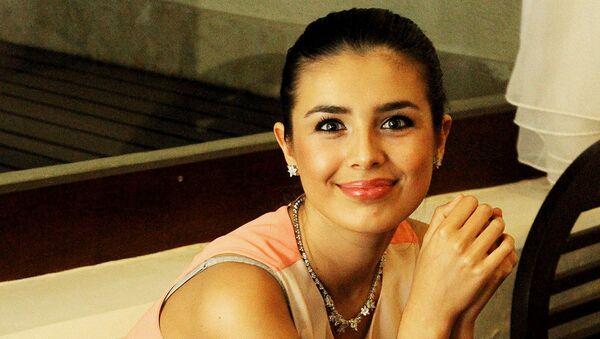 Мисс Россия-2013 Эльмира Абдразакова на конкурсе Мисс Мира