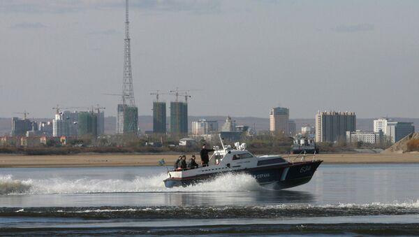 Пограничный сторожевой корабль Пограничного управления ФСБ РФ. Архивное фото
