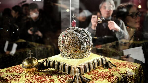 Открытие выставки Коронация в Кремле