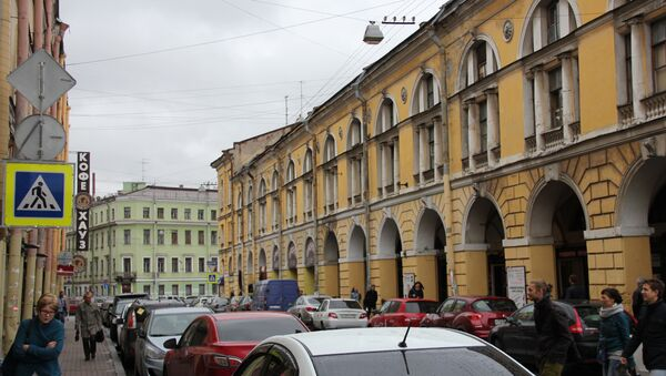 Улица Ломоносова в Петербурге. Архивное фото