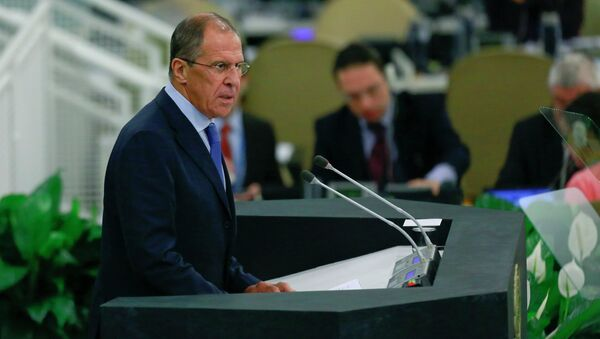 Выступление Лаврова на Генассамблее ООН