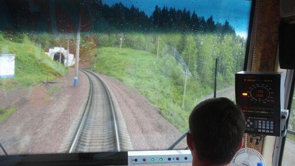 Первый Джебский тоннель на Красноярской железной дороге, архивное фото