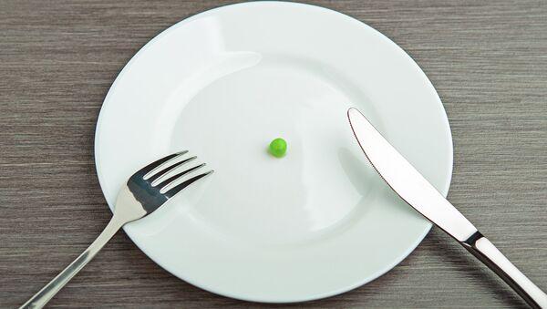 Горошина на тарелке. Архивное фото