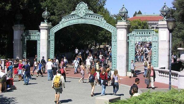 Один из входов в кампус Беркли. Архивное фото