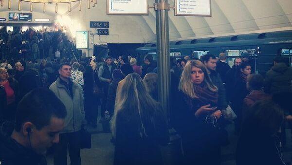 Станции метро Чёрная речка петербургского метрополитена