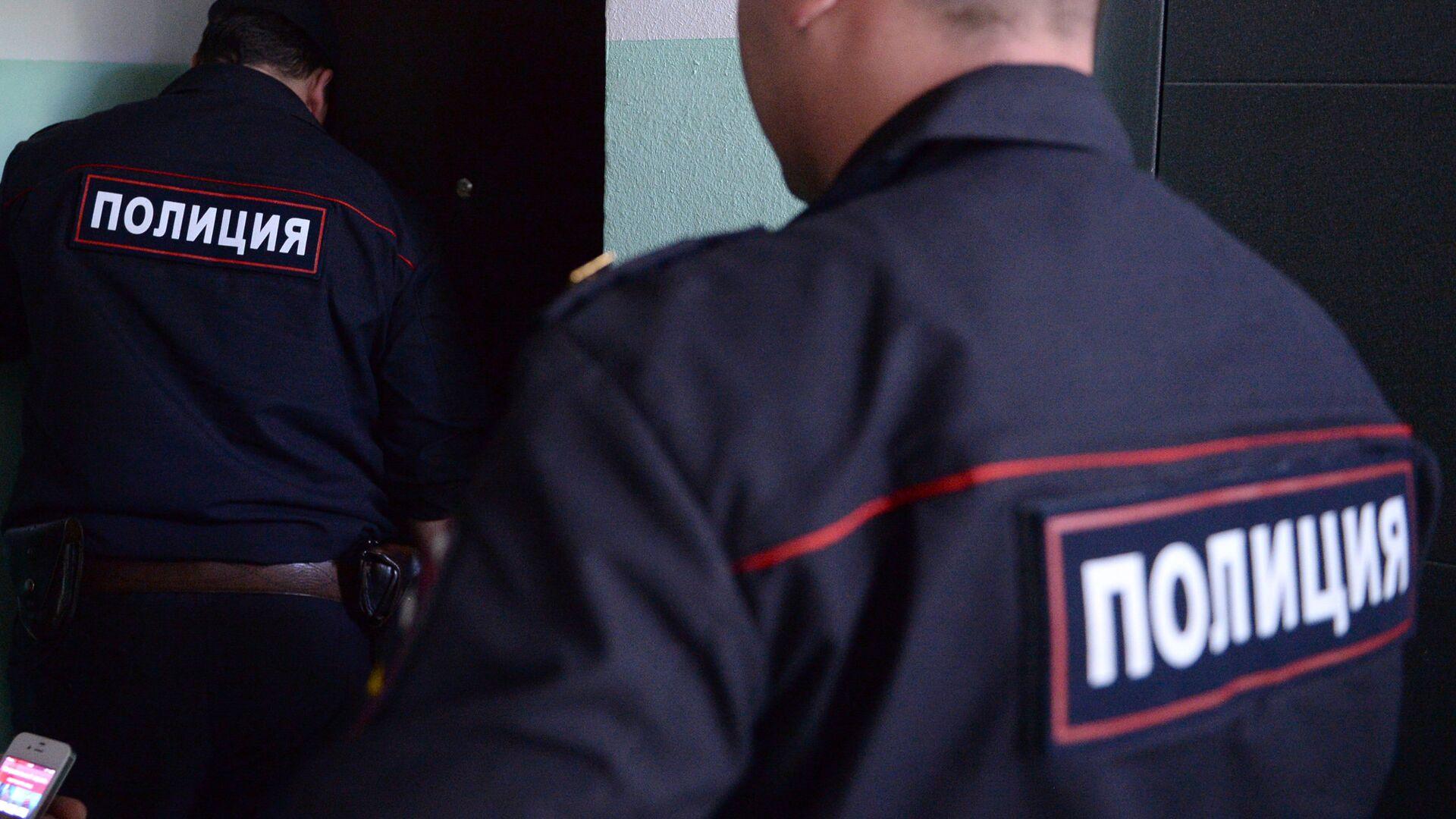 Полицейские. Архивное фото - РИА Новости, 1920, 19.01.2021