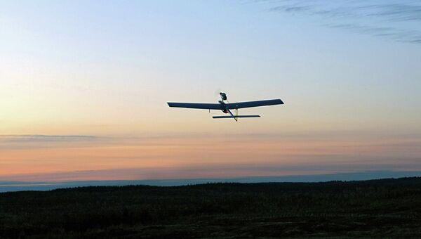 Беспилотный летательный аппарат (БПЛА). Архивное фото.