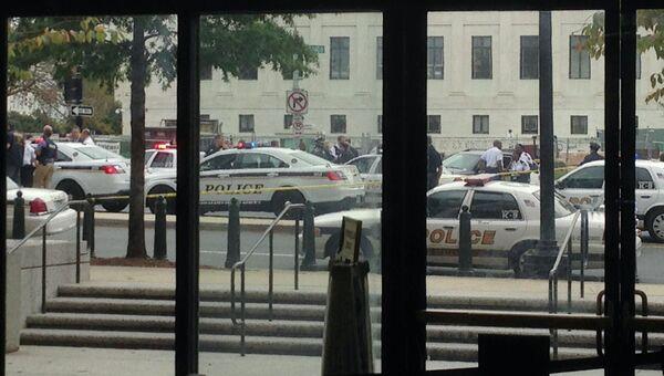 Стрельба возле здания Конгресса в Вашингтоне, фото с места события