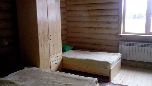 Интерьер домика для детей реабилитационного центра Шередарь