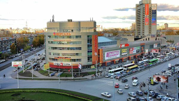 Площадь Маркса в Новосибирске. Архивное фото