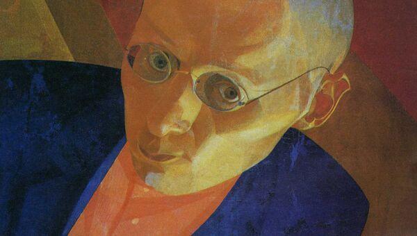 Л.Чупятов. Автопортрет. Около 1925