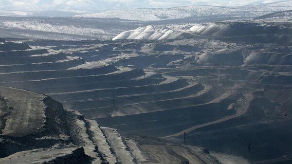 Угольный разрез Эльгинского месторождения