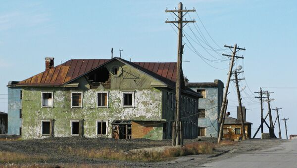 Поселок Тикси в Якутии. Архивное фото.