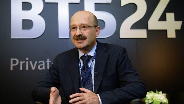Президент-председатель правления ОАО ВТБ 24 Михаил Задорнов. Архивное фото