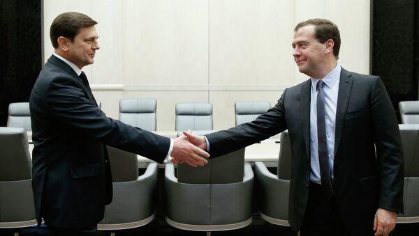 Встреча Д.Медведева и О.Остапенко. Фото с места события