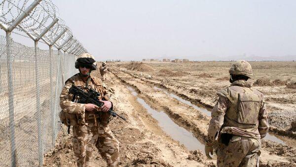 На афганской границе, архивное фото