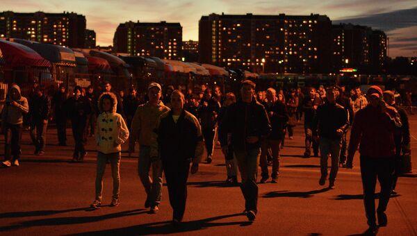 Беспорядки в московском районе Бирюлево, фото с сместа события