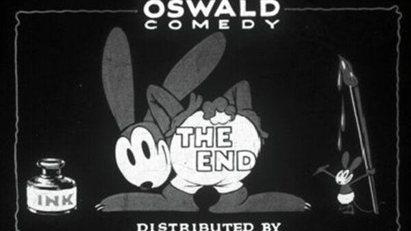 Ушастый кролик Освальд, персонаж Диснея, созданный в 1927 году