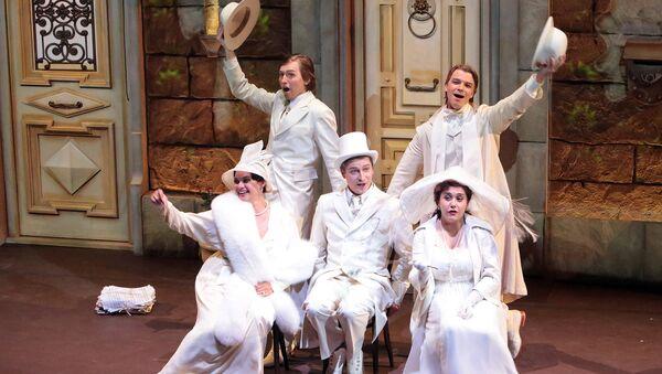 Спектакль Настройся на оперу