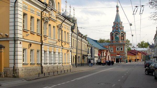 Улица Большая Полянка. Архивное фото
