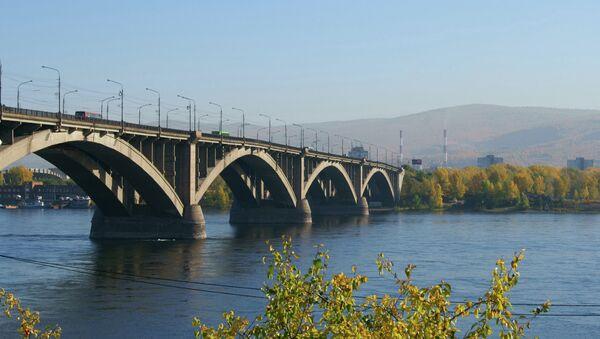 Енисей, Красноярск. Архивное фото