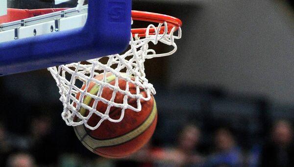 Баскетбольный матч. Архивное фото
