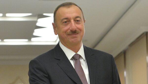 Президент Республики Азербайджан Ильхам Алиев. Архивное фото
