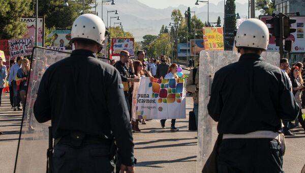 Беспорядки после гей-парада в Черногории. Фото с места событий