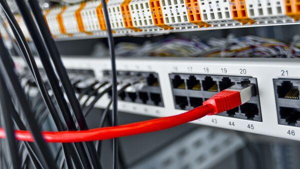 Сервер, архивное фото