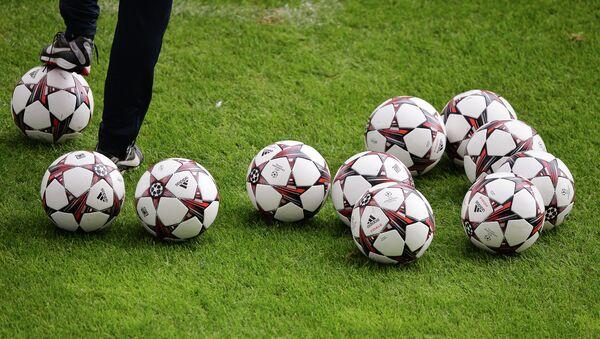 Футбол, архивное фото