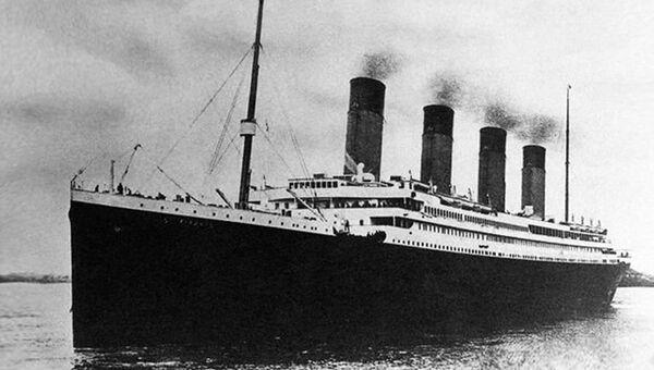 Титаник в Саутгемптоне 10 апреля 1912 года