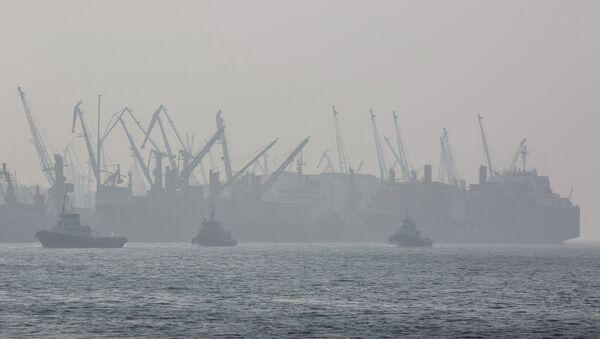 Порт во Владивостоке. Архивное фото