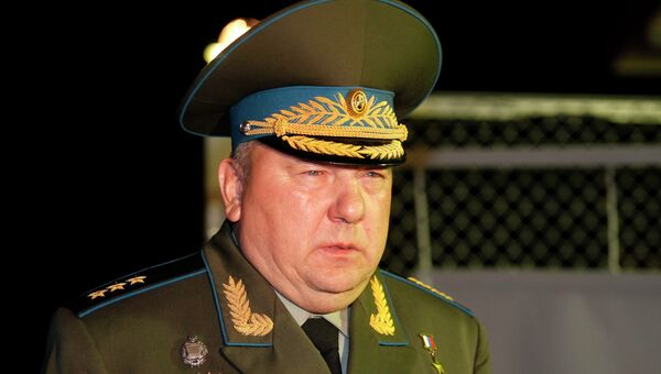 Командующий Воздушно-десантными войсками Владимир Шаманов. Архивное фото