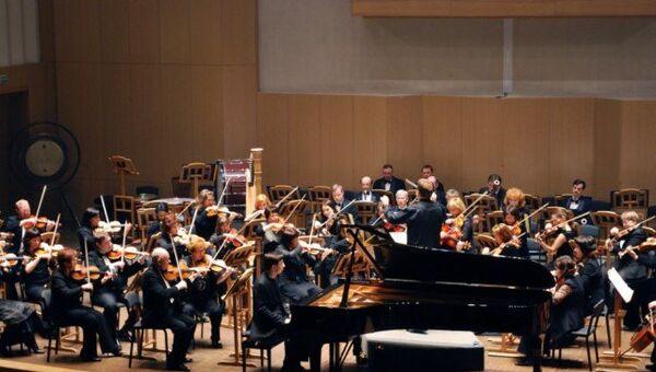Красноярский академический симфонический оркестр, архивное фото