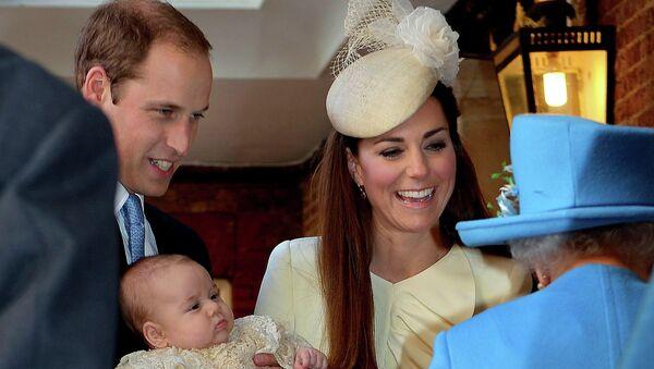 Крестины принца Кембриджского Джорджа в Лондоне