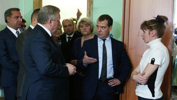 Рабочая поездка Д.Медведева в Комсомольск-на-Амуре. Архивное фото
