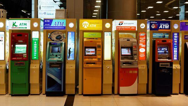 Банкоматы в Таиланде. Архивное фото