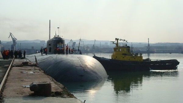 Подводная лодка ТОФ Томск