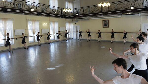 Экзамены в Академии русского балета имени А.Я. Вагановой, архивное фото.
