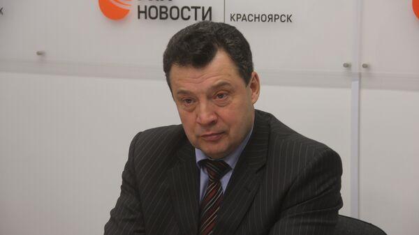 Владимир Рейнгардт, начальник Красноярской ж/д