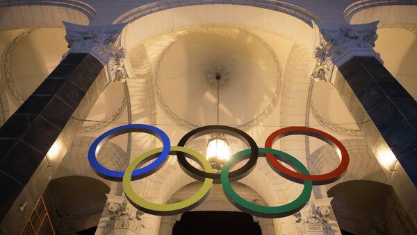 Олимпийские кольца. Архивное фото
