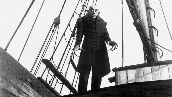 Кадр из фильма Носферату, симфония ужаса