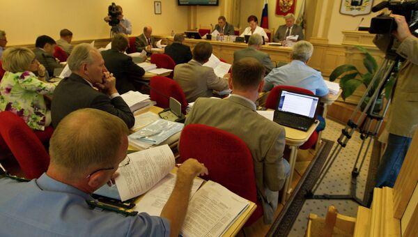 Собрание депутатов Законодательной думы Томской области, архивное фото