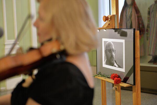 Портрет фотографа Валерия Левитина в Омском областном музее изобразительных искусств