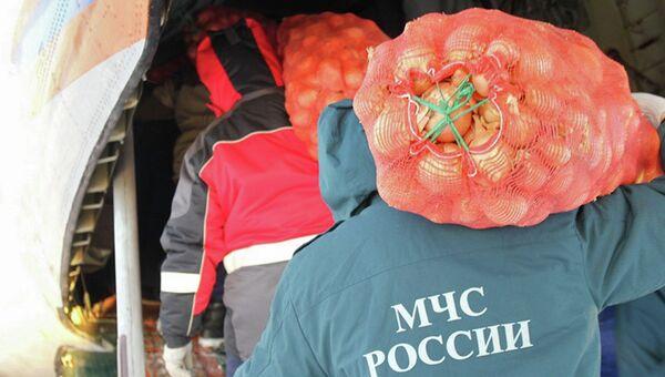Доставка продовольствия в отдаленные районы Якутии